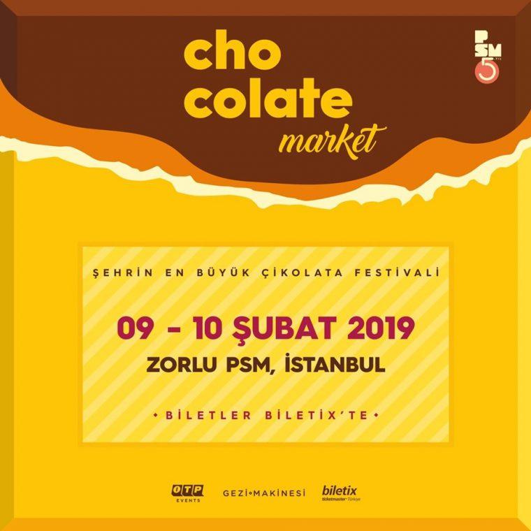 Şubat 2019 istanbul Etkinlikler | Chocolate Market