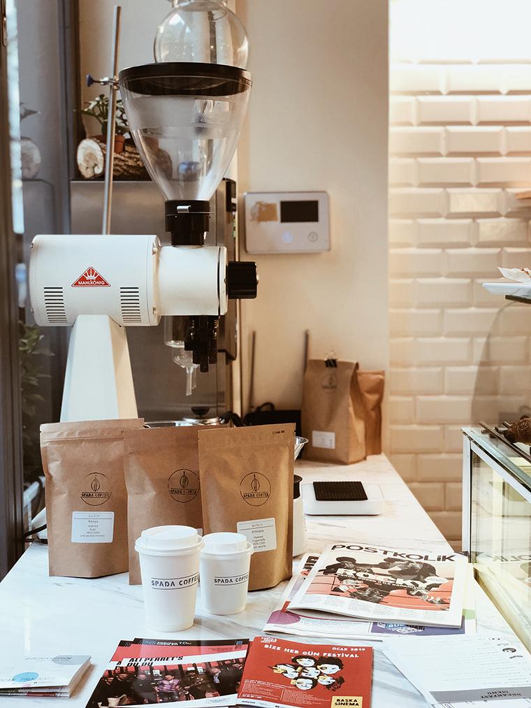 İstanbul'dan 5 Popüler 3. Dalga Kahve Dükkanları   Spada Coffee