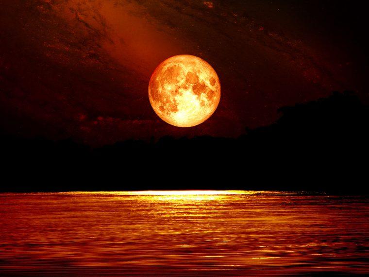Gezegen Hareketleri | Aslan Burcunda Ay Tutulması