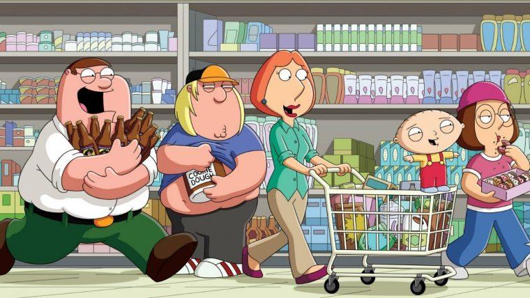 Yetişkinler için Animasyon Diziler   Family Guy