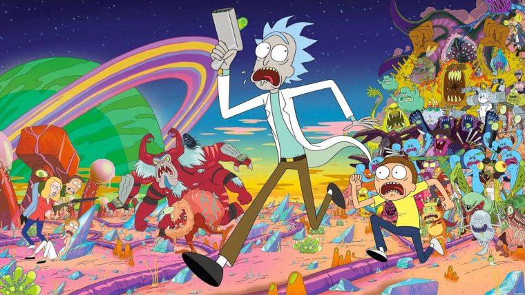 Yetişkinler için Animasyon Diziler   Rick & Morty