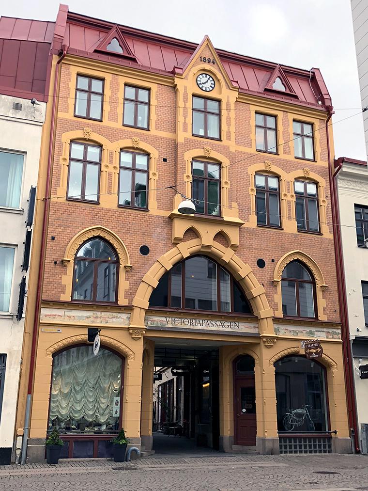 Göteburg: İsveç'in Tatlı Şehrinden Gezi Önerileri   Victoria Passagen