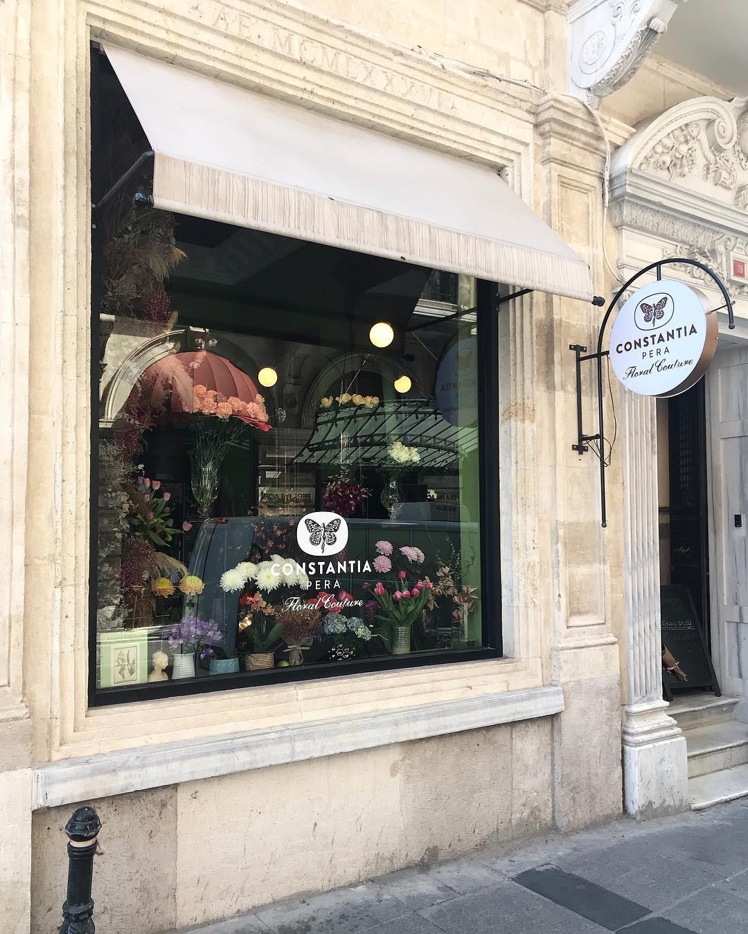 İstanbul'un Yaratıcı Çiçek Dükkanları ve Botanik Kafeleri | Constantia Pera
