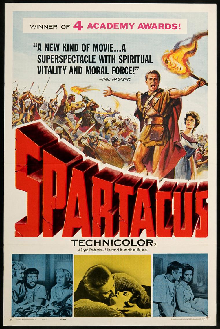 Stanley Kubrick Filmleri | Spartacus (1960)