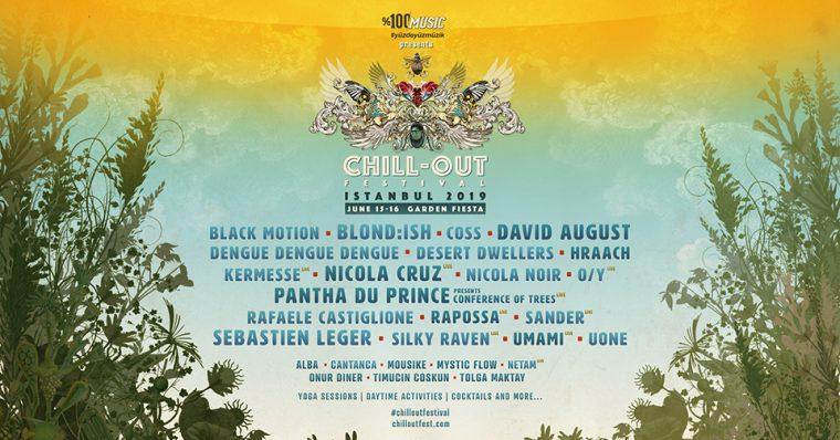 Haziran Ayı Etkinlikleri | Chill-Out Festival İstanbul 2019