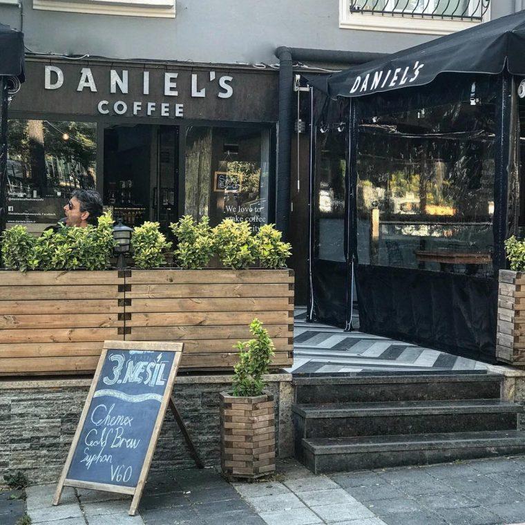 İstanbul Anadolu Yakasından 3. Dalga Kahveciler | Daniel's Coffee