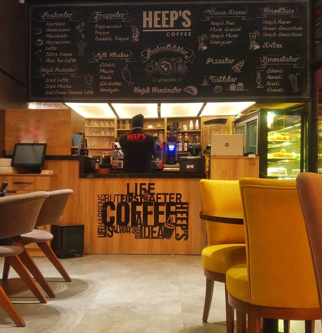 İstanbul Anadolu Yakasından 3. Dalga Kahveciler | Heep's Coffee