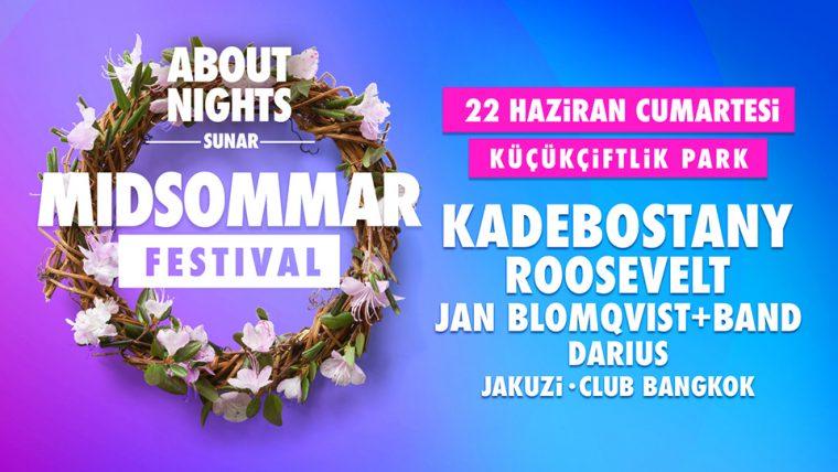 Haziran Ayı Etkinlikleri | Midsommar Festival 2019