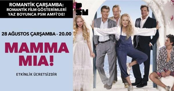 istanbul Etkinlik 2019   Amfi'de Film Gösterimleri: Mamma Mia!