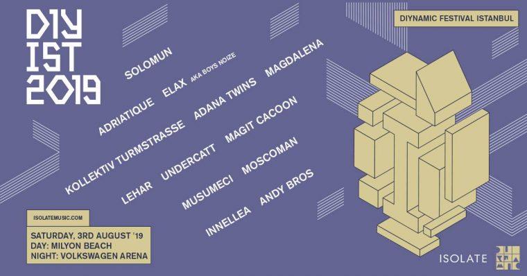 istanbul Ağustos Etkinlikleri 2019   Diynamic Fest Ist 2019