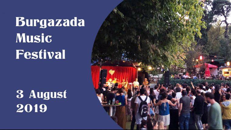 istanbul Ağustos Etkinlikleri 2019   Burgazada Müzik Festivali