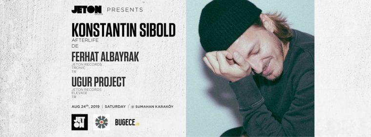 istanbul Ağustos Etkinlikleri 2019   Konstantin Sibold (Afterlife)